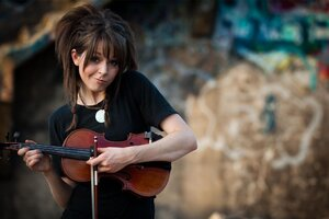 Lindsey Stirling Mood Wallpaper