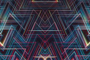 Lines Symmetry Geometry 4k Wallpaper