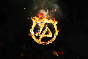 Linkin Park Burning In The Skies Wallpaper