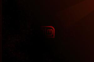 Linux Mint Red Logo 4k Wallpaper