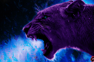 Lion 4k Artistic