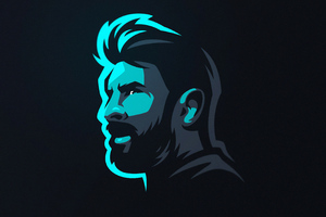Lionel Messi Art Wallpaper