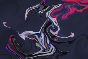 Liquid Abstract Paint Brushes 5k