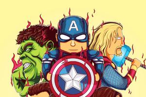 Little Avengers 4k