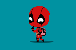 Little Deadpool Wallpaper