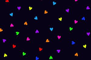 Little Hearts Wallpaper