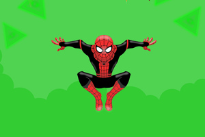Little Spiderman Background Wallpaper
