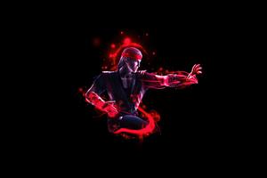 Liu Kang Mortal Kombat Minimal 5k Wallpaper