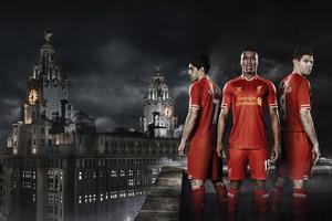 Liverpool FC Daniel Sturridge Luis Suarez Steven Gerrard Wallpaper