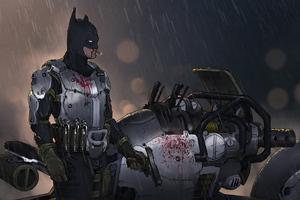 Lo Fi Batman 4k