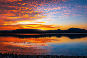 Loch Lomond Sunset Scotland 5k Wallpaper