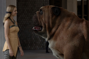 Lockjaw And Crystal Marvel Inhumans