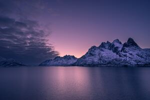 Lofoten Norway 5k Wallpaper