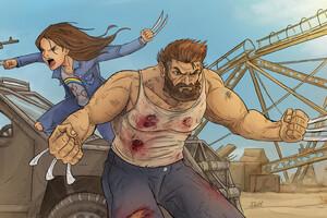 Logan Movie Artwork Wallpaper