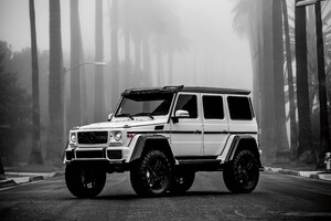 Logan Paul Mercedes G Wagon