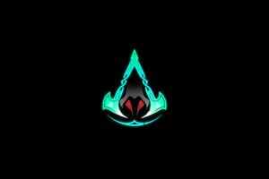 Logo Assassins Creed Valhalla 4k