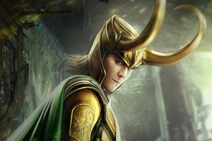 Loki Comic Art 4k