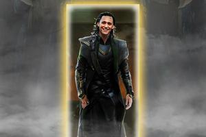 Loki Escape Wallpaper