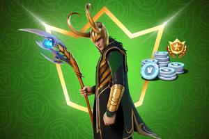 Loki Fortnite 2021 Wallpaper