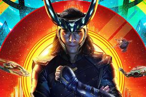 Loki In Thor Ragnarok 2017