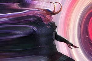 Loki Sketch Comic Art Wallpaper