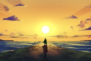 Loki Sun Will Shine Wallpaper