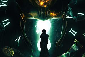 Loki The Counsellor Wallpaper