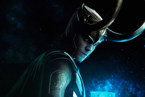 Loki The God Mischief Wallpaper