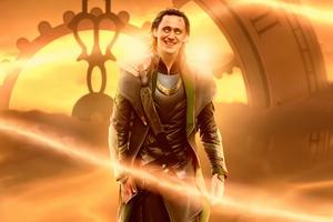 Loki The God Of Mischief Poster 4k Wallpaper