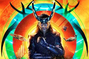 Loki Thor Ragnarok 12k Wallpaper
