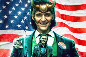 Loki Tv Series Poster Wallpaper