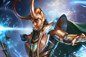 Loki Tvseries Fanart Wallpaper