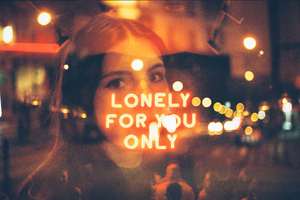Lonely For You Only Manipulation Wallpaper