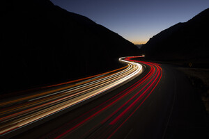Long Exposure Road 5k Wallpaper