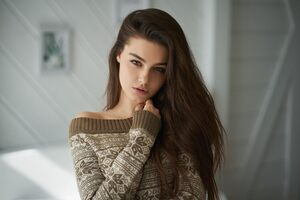 Long Hair Brunette