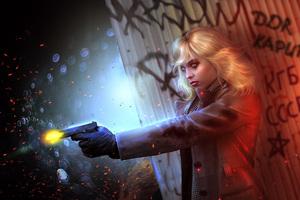 Lorraine Broughton Atomic Blonde Fictional Character Artwork