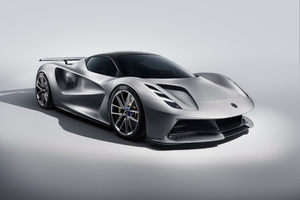 Lotus Evija 2019 Front View Wallpaper