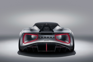 Lotus Evija 2019 Rear Wallpaper