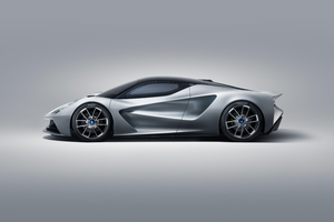 Lotus Evija 2019 Side View Wallpaper