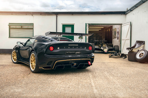 Lotus Exige Cup 430 2018 Rear View Wallpaper