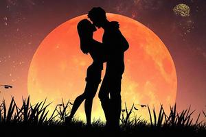 Lovers Romance 4k Wallpaper