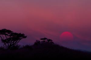 Low Fi Sunset 8k Wallpaper