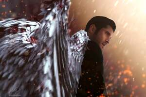 Lucifer Devil Wings Wallpaper