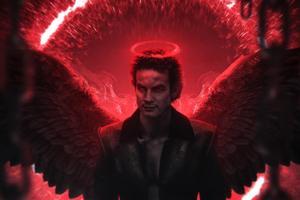 Lucifer Digital Art 4k Wallpaper