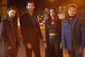 Lucifer Tv Show Cast Wallpaper