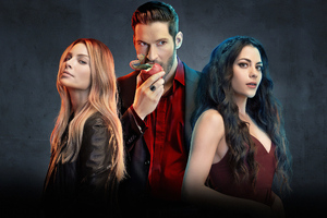 Lucifer Tv Show Poster Wallpaper