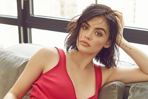 Lucy Hale The Glass Magazine 2020 4k Wallpaper
