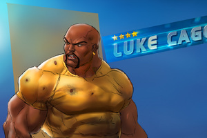 Luke Cage Art Wallpaper