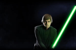 Luke Skywalker Star Wars Battlefront 2 Wallpaper