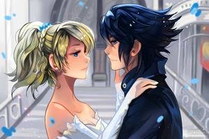 Luna And Noctis Final Fantasy 15 4k